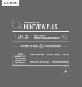 Huntview Plus Mapcard