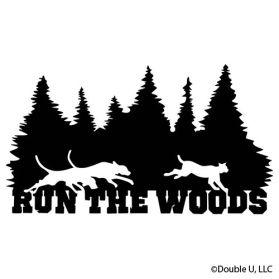 Run the woods bobcat