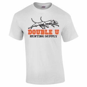 Double U Hunting Supply White Pro Staff T-Shirt