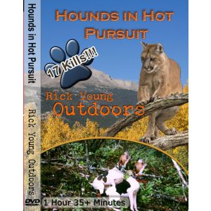 Hounds In Hot Pursuit DVD  - Rick Young