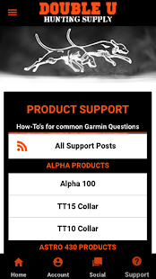 App Support Pages